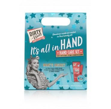 It' s All In Hand Σετ Περιποίησης Χεριών, 4 Προϊόντων, Hand Cream 1χ100ml, Nail & Cuticle Balm 1x10g, Λίμες 2τμχ