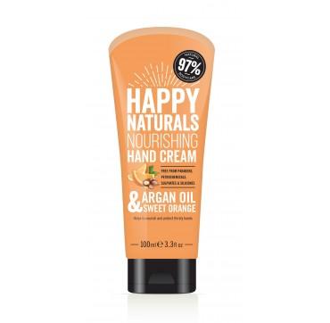 Happy Naturals Argan Oil & Sweet Orange Hand Cream 100ml
