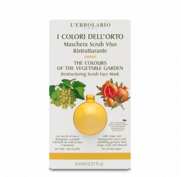 RESTRUCTURING SCRUB FACE MASK THE COLOURS OF THE VEGETABLE GARDEN 8ML