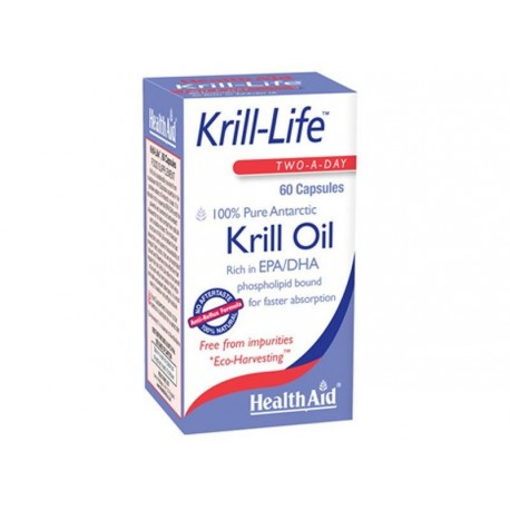 HEALTH AID KRILL-LIFE OIL 500mg 60caps