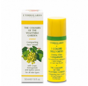 L'ERBOLARIO THE COLOURS OF THE VEGETABLE COMPACTING FACE CREAM 50ML