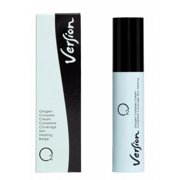 Version Oxygen Complex Cream Complete Coverage Skin Healing Beige 20ml