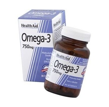 HEALTH AID OMEGA-3 750mg 30caps