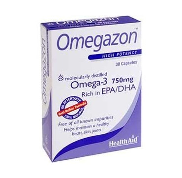 HEALTH AID OMEGAZON 750mg 30caps