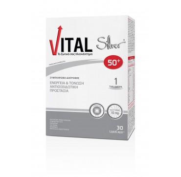 VITAL Silver 50+ 30 caps