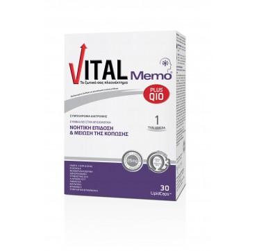 VITAL PLUS Q10 MEMO CAPS X30