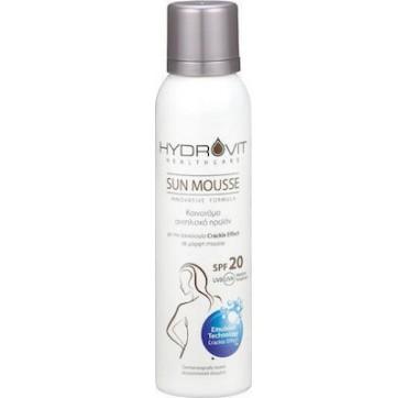 Target Pharma Hydrovit Sun Medium Protection Mousse Spf20 150ml