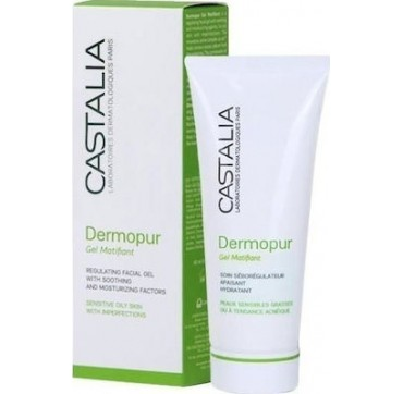 CASTALIA DERMOPUR GEL MATIFIANT 40ML