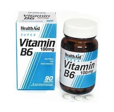 Health Aid Vitamin B6 100mg 90tabs