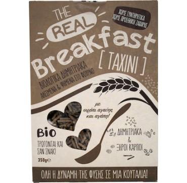 Βιο Αγρός The Real Breakfast Δημητριακά Με Ταχίνι & Σιρόπι Αγαύης 350g
