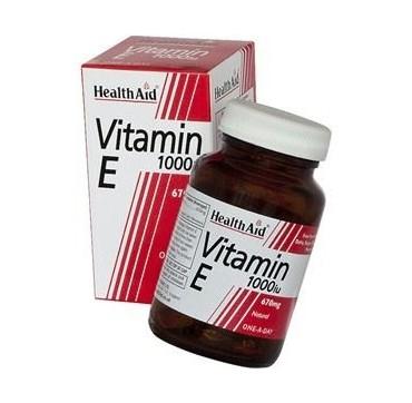 Health Aid Vitamin E 1000iu 30caps