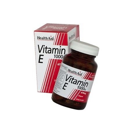 HEALTH AID VITAMIN E 1000IU 30caps