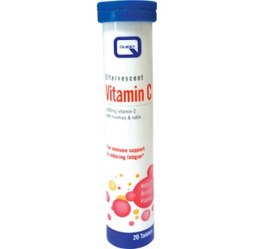 Quest Nutrition Vitamin C 1000mg with Rosehips & Rutin 20 αναβράζοντα δισκία