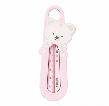 Babyono Floating Bath Thermometer 0+ Μηνών Ροζ Αρκουδάκι 1τμχ