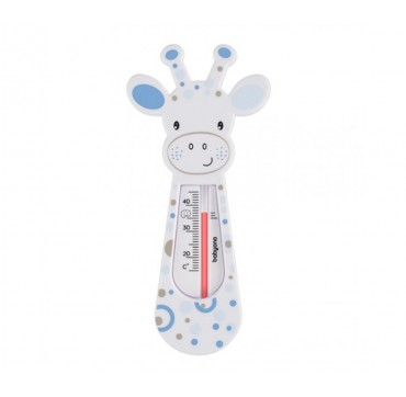 Babyono Floating Bath Thermometer 0+ Μηνών Λευκή Καμηλοπάρδαλη 1τμχ