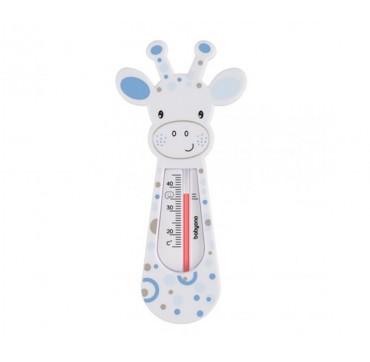 Babyono Floating Bath Thermometer 0+ Μηνών Λευκή Καμηλοπάρδαλη 1τμχ