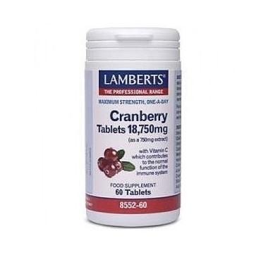 LAMBERTS CRANBERRY 18.750 mg 60tabs
