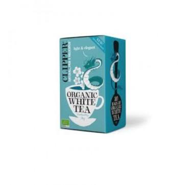 Clipper Natural, Fair & Delicious Organic White Tea - Βιολογικό Λευκό Τσάϊ 20 σακουλάκια 34g
