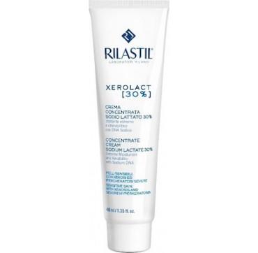 Rilastil Xerolact E Cream Concentrate Cream Sodium Lactate 30% 40ml