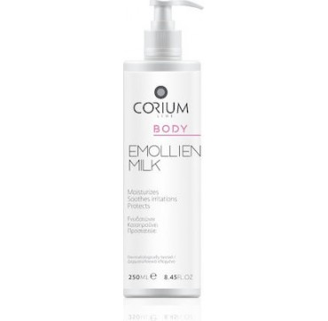 Corium Line Body Emollient Milk 250ml
