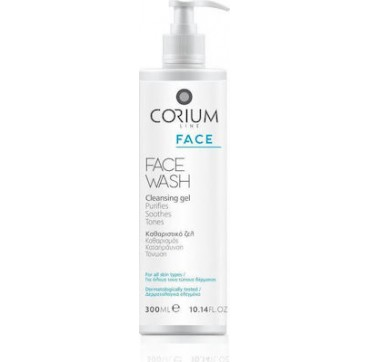 Corium Line Face Wash Cleansing Gel 300ml