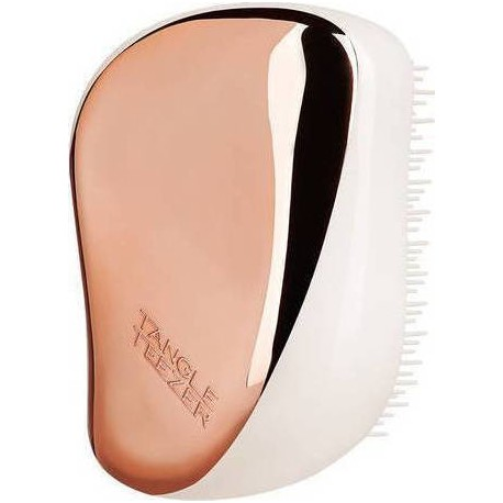 Tangle Teezer Compact Styler On The Go Detanglish Hairbrush Rose Gold Ivory 1τμχ