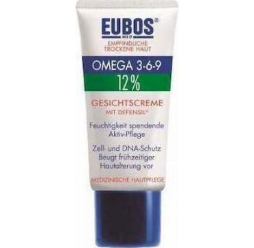 Eubos Omega 3-6-9 12% Face Cream Defensil 50ml