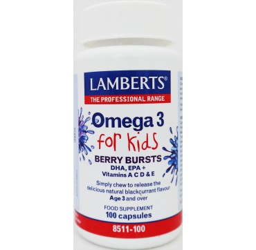 LAMBERTS OMEGA 3 FOR KIDS 30caps