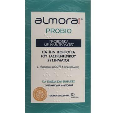 Elpen Almora Plus Probio Προβιοτικά με Ηλεκτρολύτες 10 x 4.5gr
