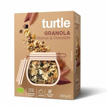 Turtle Granola Walnut & Chocolate 350g