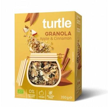 Turtle Granola Apple & Cinnamon 350g