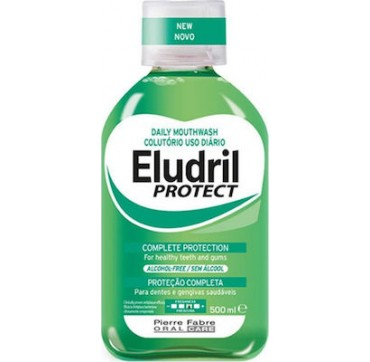 Eludril Protect Complete Protection for Healthy Teeth & Gums 500ml