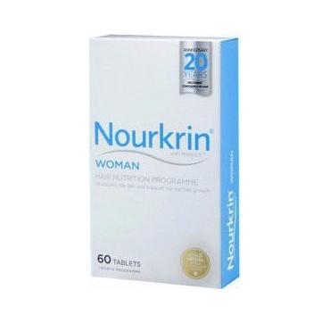 Nourkrin Woman Συμπλήρωμα Διατροφής για την Πρόληψη & Αντιμετώπιση της Γυναικείας Τριχόπτωσης, 60 caps
