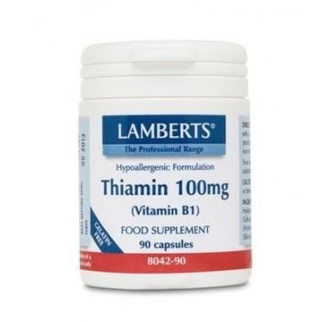 LAMBERTS THIAMIN B1 100mg 90caps