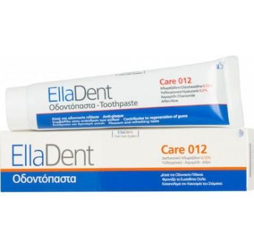 EllaDent Care 012 κατά της Πλάκας και της Κακοσμίας 75ml