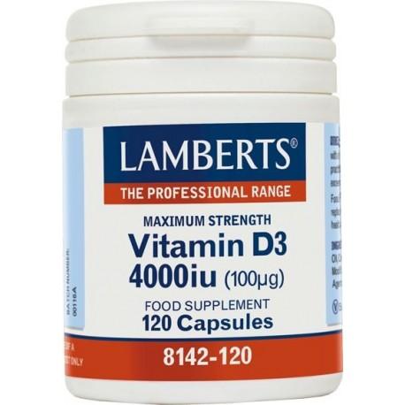 Lamberts Vitamin D3 4000iu 120caps