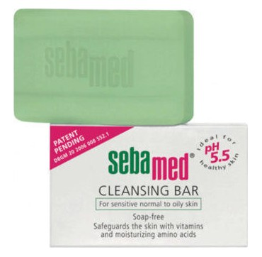 Sebamed Cleansing Bar For Sensitive Normal To Oily Skin 150g
