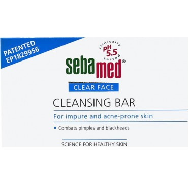 Sebamed Syndet Clear Face Cleansing Bar 100g