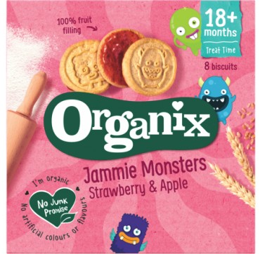 Organix Jammie Monsters 8τμχ