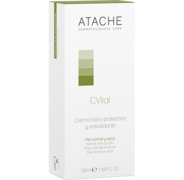 Atache CVital Moisturizing Protecting & Antioxidant Cream for Normal & Dry Skin 50ml