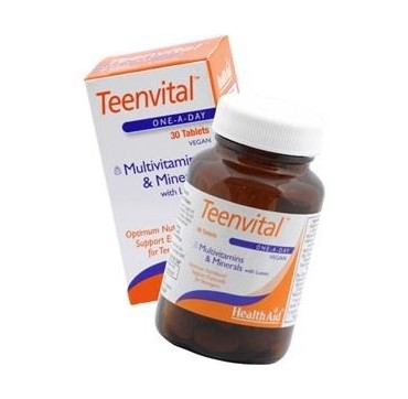 HEALTH AID TEENS MULTIVIT (Ages 12-16) 30tabs