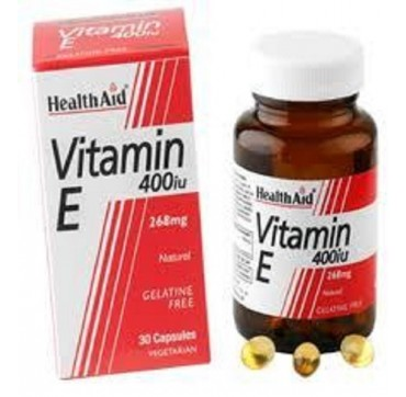 HEALTH AID VITAMIN E 400IU 268mg 30caps