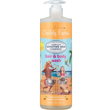 Childs Farm hair & body wash watermelon & organic pineapple 500ml
