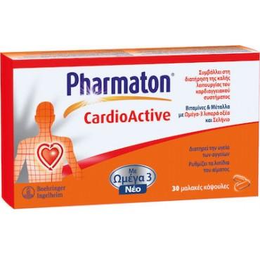 Pharmaton Geriatric Cardio Με Ωμέγα-3 30caps