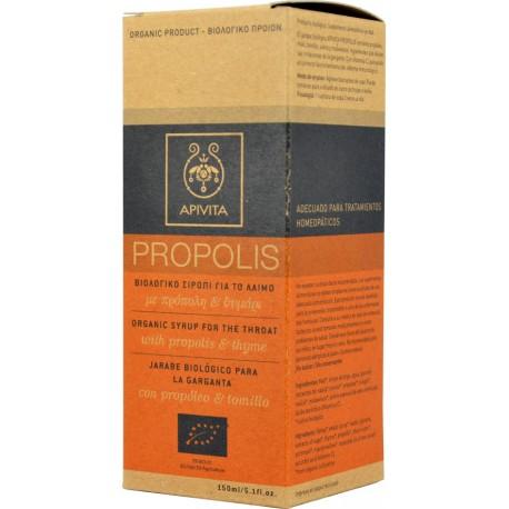 Apivita Propolis με Πρόπολη & Θυμάρι για τον Ερεθισμένο Λαιμό, Ανακουφίζει από τα Συμπτώματα του Κρυολογήματος 150ml