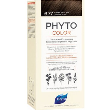 Phyto Phytocolor 6.77 Μαρόν Ανοιχτό Καπουτσίνο