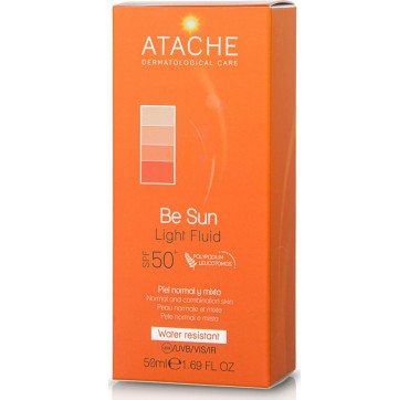 Atache Be Sun Anti-Ageing Fluid Face SPF50 Normal & Combination Skin 50ml