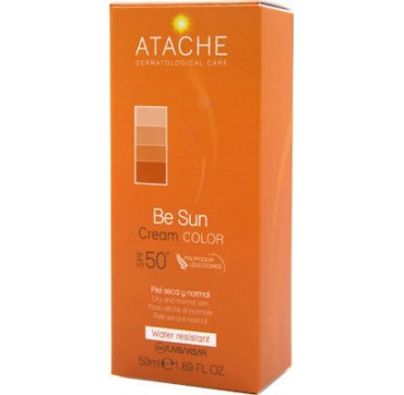 Atache Be Sun Cream Color SPF50+ 50ml