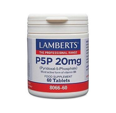 Lamberts P5P 20mg 60 Tabs