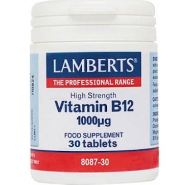 Lamberts Vitamin B12 1000mg 30 Tabs